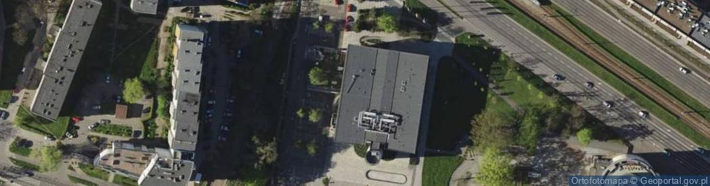 Zdjęcie satelitarne Legnicka ul.