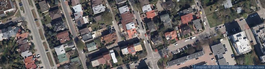 Zdjęcie satelitarne Łomiańska ul.