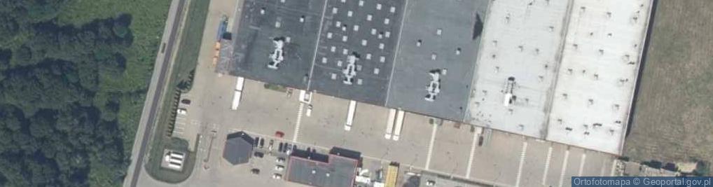 Zdjęcie satelitarne Ługowa ul.