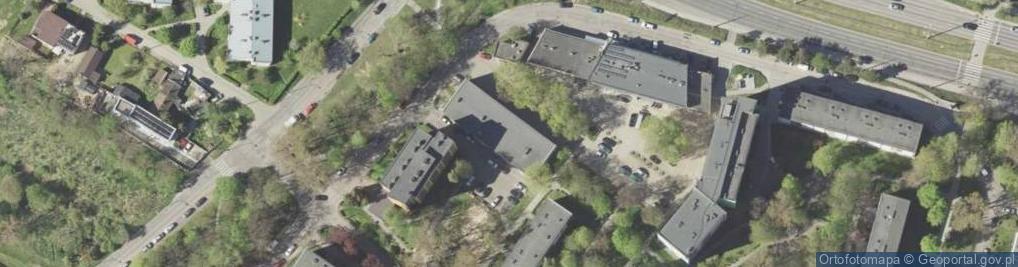 Zdjęcie satelitarne Montażowa ul.