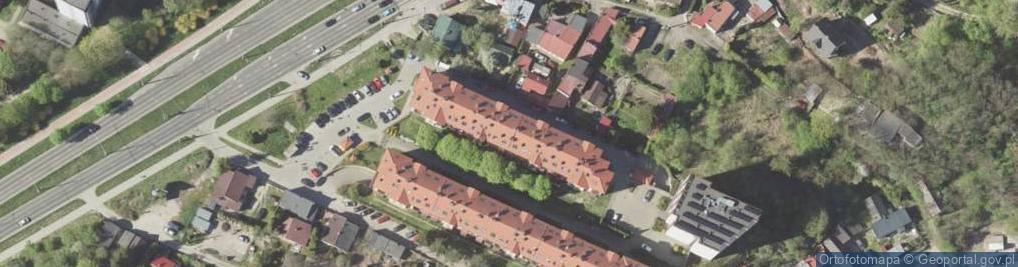 Zdjęcie satelitarne Nadbystrzycka ul.