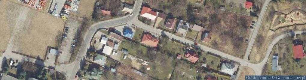 Zdjęcie satelitarne Nabielaka Ludwika ul.