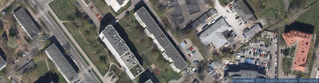 Zdjęcie satelitarne Namysłowska ul.