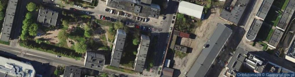 Zdjęcie satelitarne Nabycińska ul.
