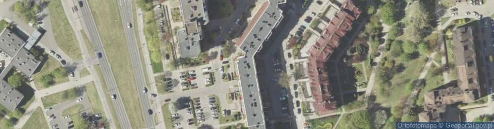Zdjęcie satelitarne Nowowiejskiego Feliksa ul.