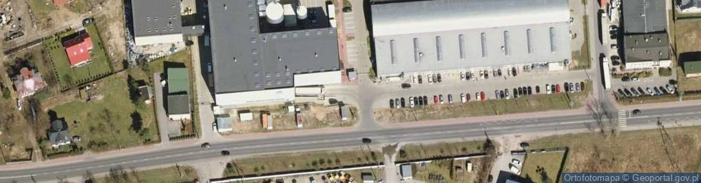Zdjęcie satelitarne Okunin ul.