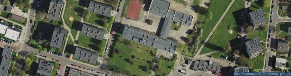 Zdjęcie satelitarne Olchowa ul.