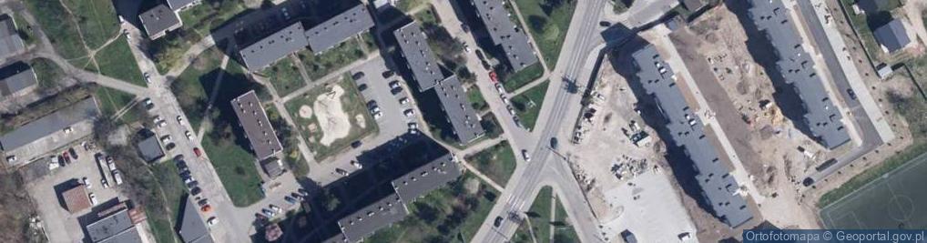 Zdjęcie satelitarne Osiedle Podzamcze Sektor C os.