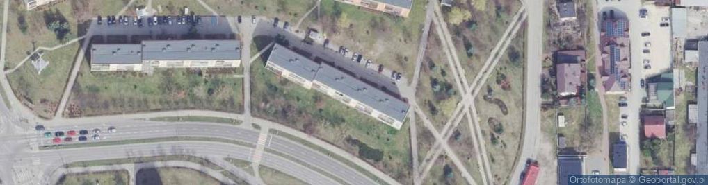Zdjęcie satelitarne Osiedle Pułanki os.