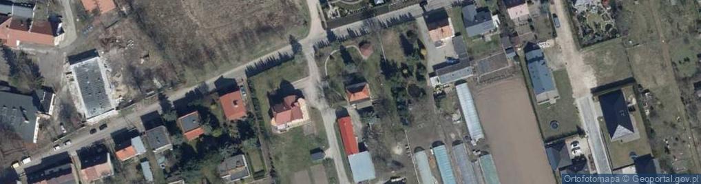 Zdjęcie satelitarne Partyzancka ul.