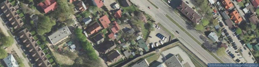Zdjęcie satelitarne Pińska ul.