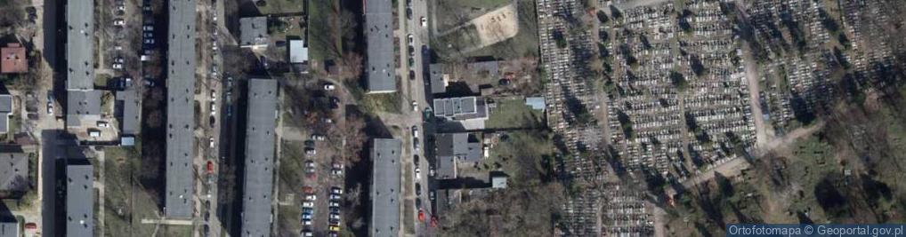 Zdjęcie satelitarne Pietrusińskiego Jana ul.