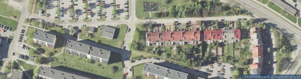 Zdjęcie satelitarne Pionierska ul.