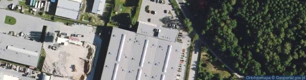 Zdjęcie satelitarne Przyszłości ul.