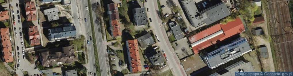 Zdjęcie satelitarne Rzemieślnicza ul.