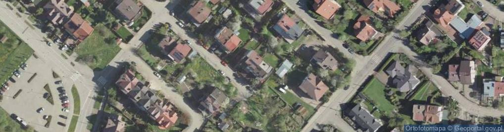 Zdjęcie satelitarne Satelitarna ul.
