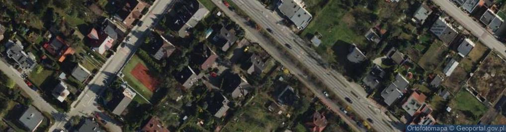 Zdjęcie satelitarne Strzeszyńska ul.