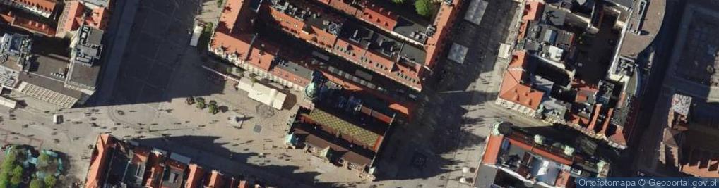 Zdjęcie satelitarne Sukiennice ul.