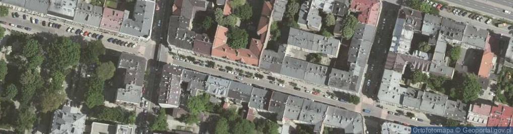Zdjęcie satelitarne Topolowa ul.