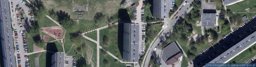 Zdjęcie satelitarne Turystyczna ul.