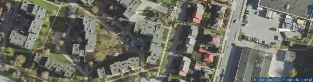 Zdjęcie satelitarne Wirskiego Bolesława ul.