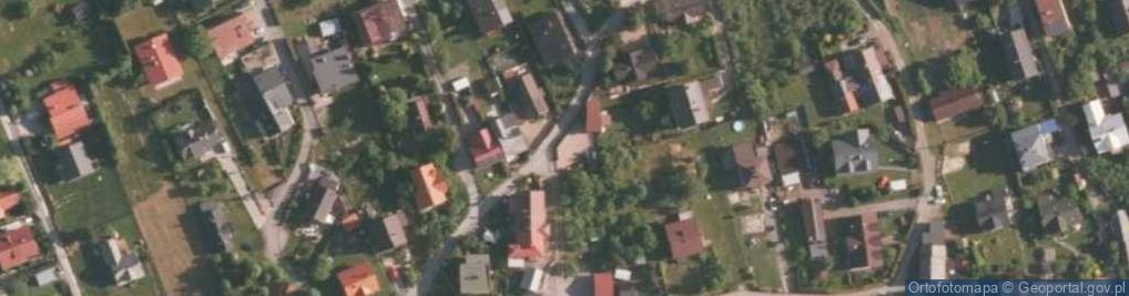 Zdjęcie satelitarne Woźna ul.