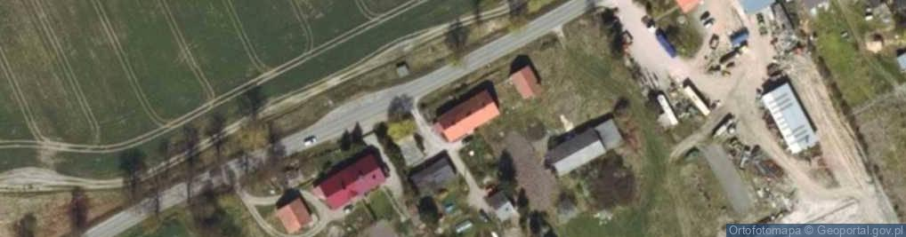 Zdjęcie satelitarne Zajezierze ul.