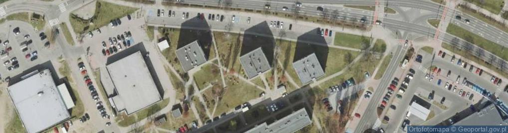 Zdjęcie satelitarne Zawadzkiego Tadeusza ul.