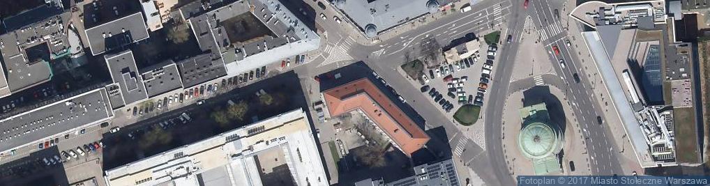 Zdjęcie satelitarne Żurawia ul.