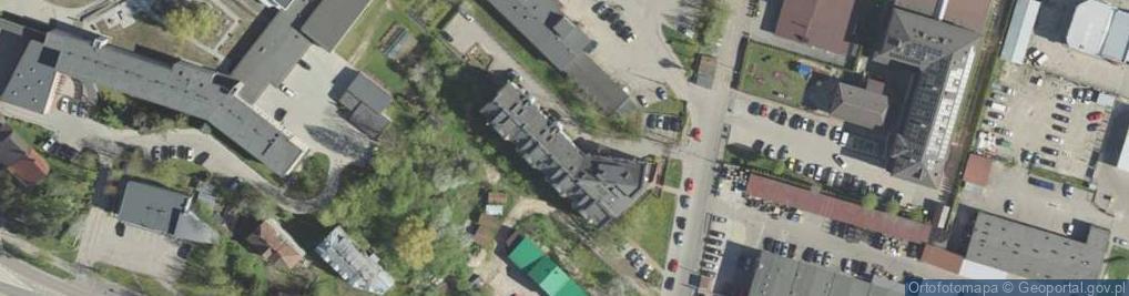 Zdjęcie satelitarne Zwycięstwa ul.