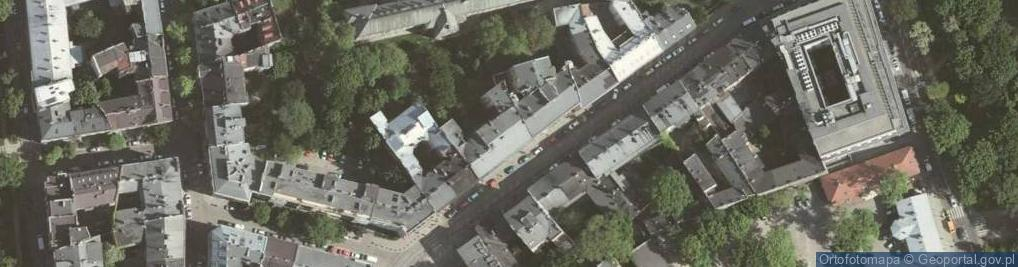Zdjęcie satelitarne Zwierzyniecka ul.