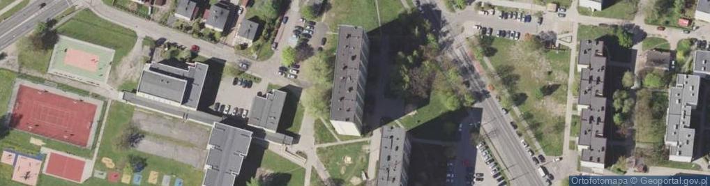Zdjęcie satelitarne Żwakowska ul.