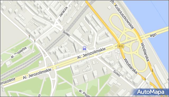 Przystanek AL. 3 MAJA 01. ZTM Warszawa - Warszawa na mapie Targeo