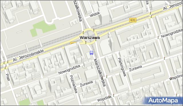 Przystanek CENTRUM 01. ZTM Warszawa - Warszawa na mapie Targeo