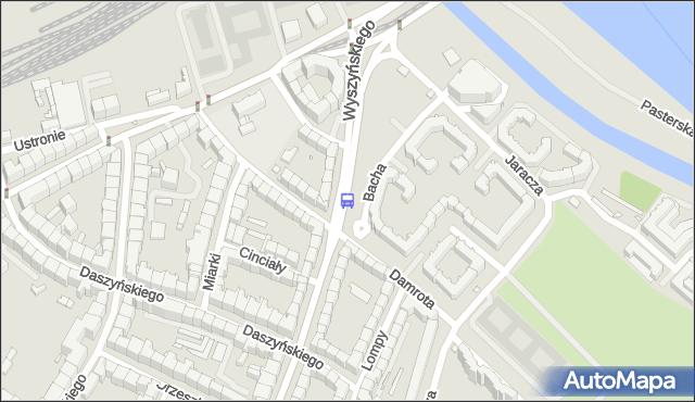 Przystanek Damrota. MPKWroclaw - Wrocław na mapie Targeo