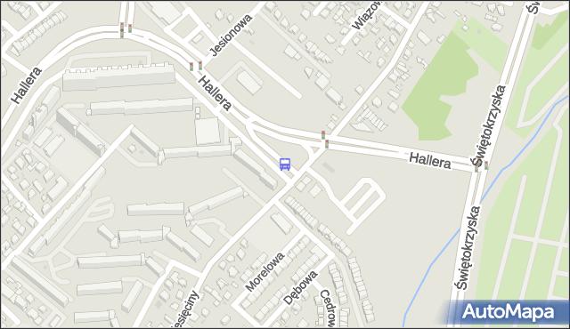 Przystanek Gen. J.Hallera/Dziesięciny Pętla. BKM - Białystok (google) na mapie Targeo