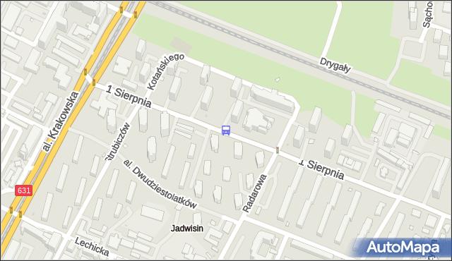 Przystanek JADWISIN 02. ZTM Warszawa - Warszawa na mapie Targeo