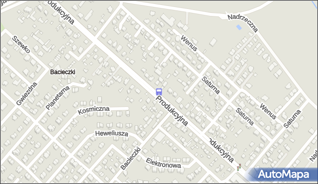 Przystanek Produkcyjna/Neptuna. BKM - Białystok (google) na mapie Targeo