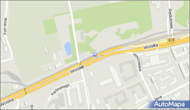Przystanek SOWIŃSKIEGO 01. ZTM Warszawa - Warszawa na mapie Targeo