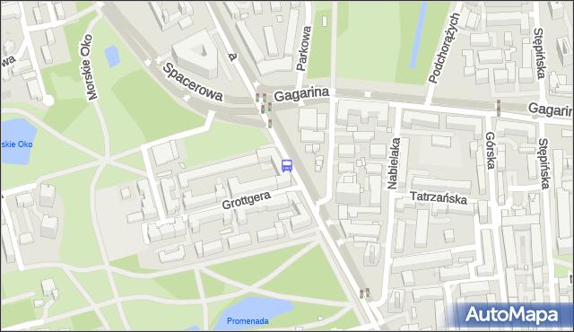 Przystanek SPACEROWA 01. ZTM Warszawa - Warszawa na mapie Targeo