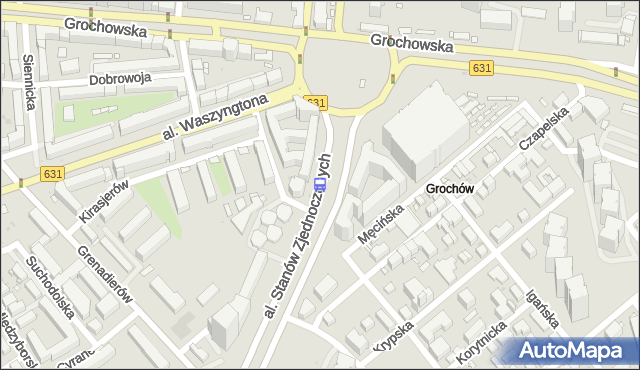 Przystanek WIATRACZNA 09. ZTM Warszawa - Warszawa na mapie Targeo