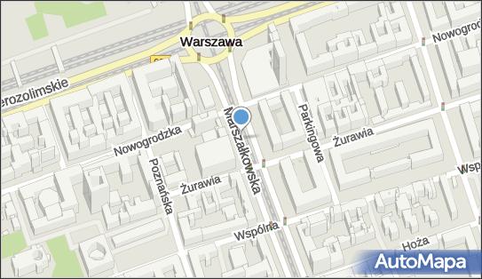 Od ronda Dmowskiego do okolic ulicy Pięknej, ul. Marszałkowska - Atrakcja turystyczna