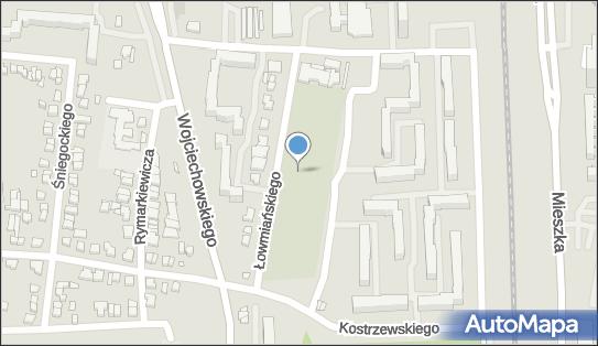 cmentarz parafii św. Stanisława Kostki, 60-685 Poznań - Cmentarz