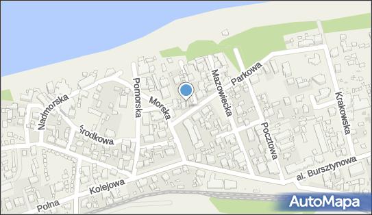 OW Niechorze Dom Wczasowy Grażyna, Niechorze, ul. Parkowa 3 - Hotel, numer telefonu