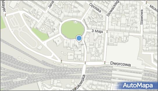 Pałac Goldsteinów, Katowice, Plac Wolności 12a - Pałac, Dwór