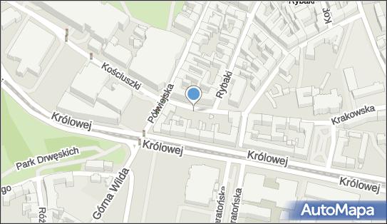 Parking Płatny-strzeżony, Krakowska, Poznań 61-889, 61-893 - Płatny-strzeżony - Parking