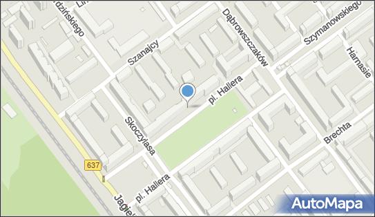 Przychodnia, Plac gen. Józefa Hallera 5, Warszawa - Przychodnia