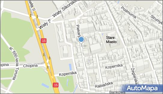 Strefa płatnego parkowania, 87-100 Toruń, Piekary, godziny otwarcia