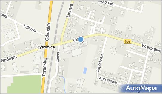 Szkoła podstawowa, w ZS nr 1, Łysomice 87-148 - Szkoła podstawowa, numer telefonu
