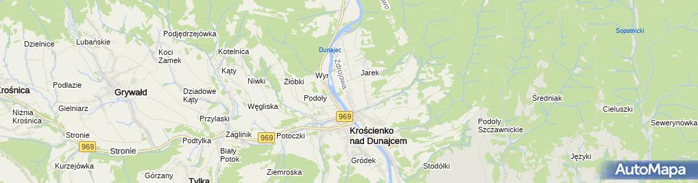 Zdjęcie satelitarne Stanisława i Stefan Kwiatek